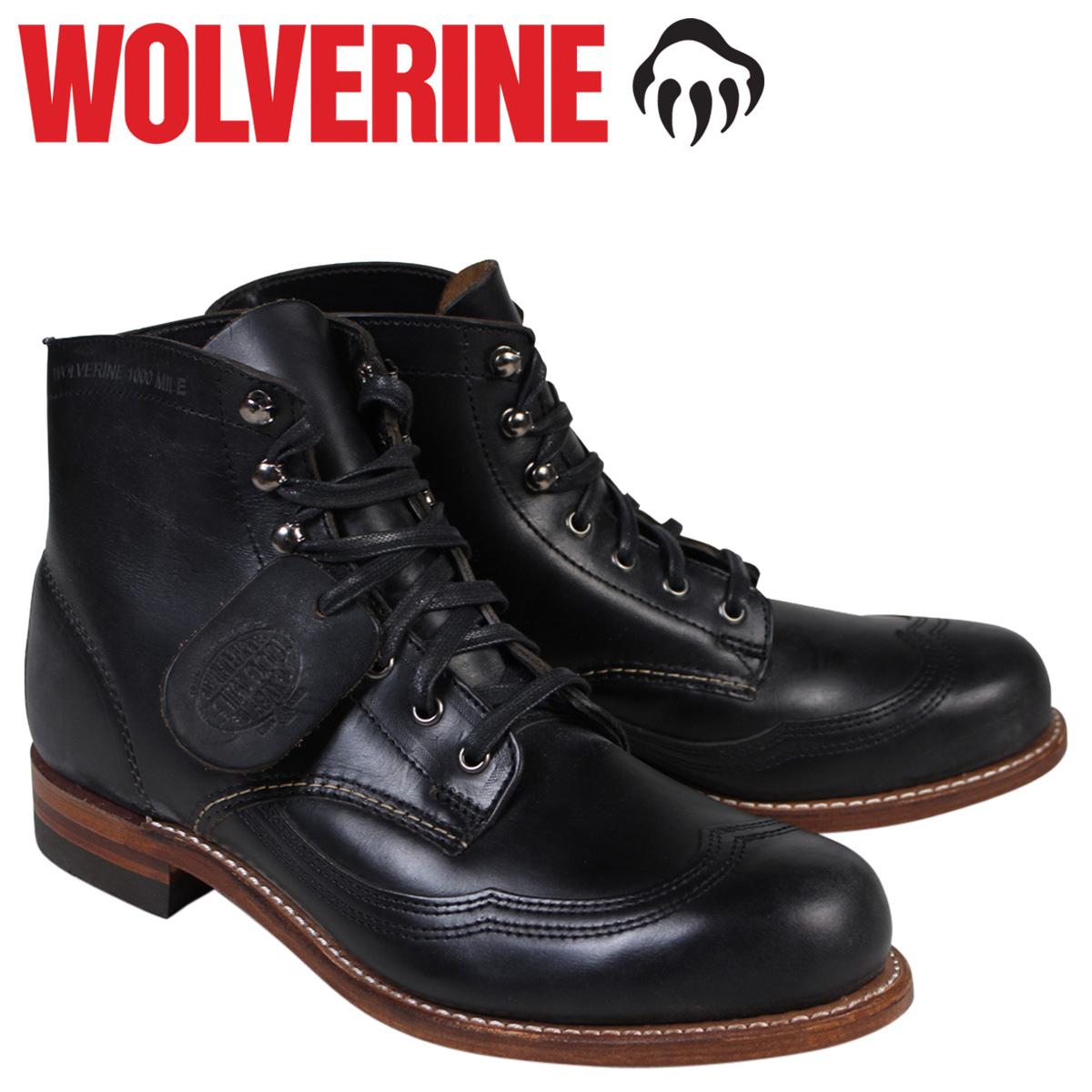 ウルヴァリン WOLVERINE 1000マイル ブーツ 1000MILE ADDISON WINGTIP BOOT Dワイズ W05344