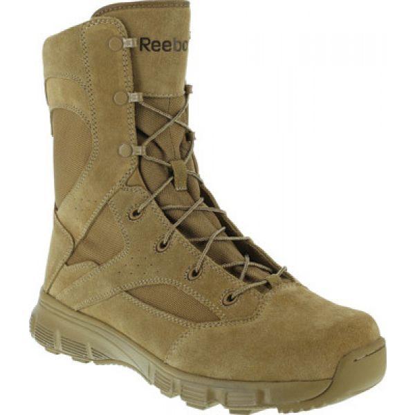 リーボック Reebok Work メンズ ブーツ シューズ・靴【8' Dauntless RB8822 Soft-Toe Military Boot】Coyote Brown Cattlehide Leather