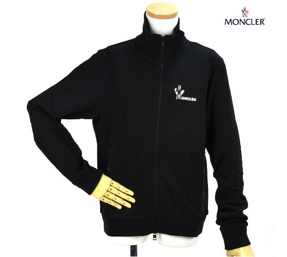 モンクレール MONCLER 84286.00 8098U/999 MAGLIA CARDIGAN BLACK ジップアップ