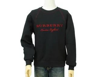 BURBERRYバーバリーMen's ロゴ刺繍 トレーナー BURBERRY Prorsum