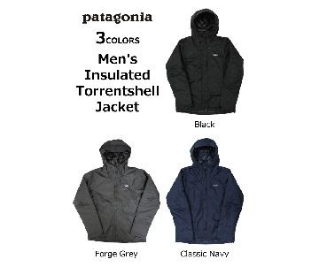 パタゴニア Men's Insulated Torrentshell Jacket メンズ インサレーテッド トレントシェル ジャケット