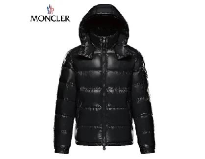 MONCLER モンクレール 2019-2020年秋冬 MAYA(マヤ) シャイニーブラック(999) メンズ ダウンジャケット