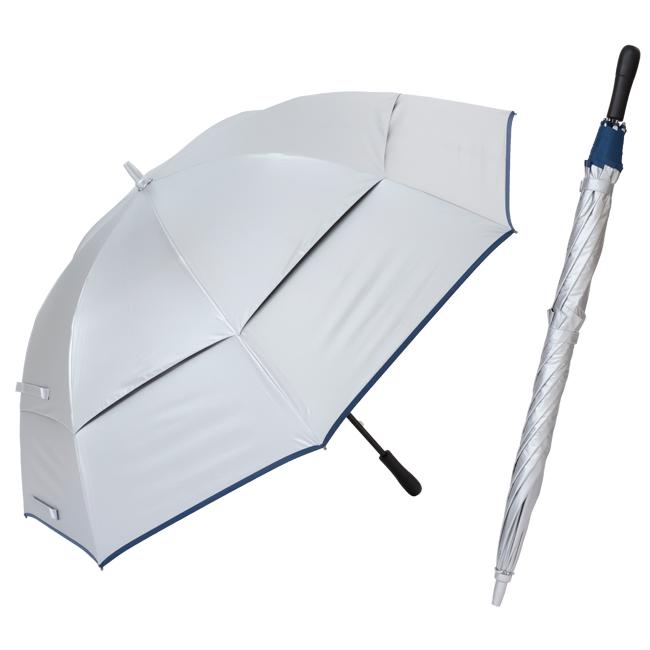 リーベン シルバーコーティング 風が抜けるUV長傘