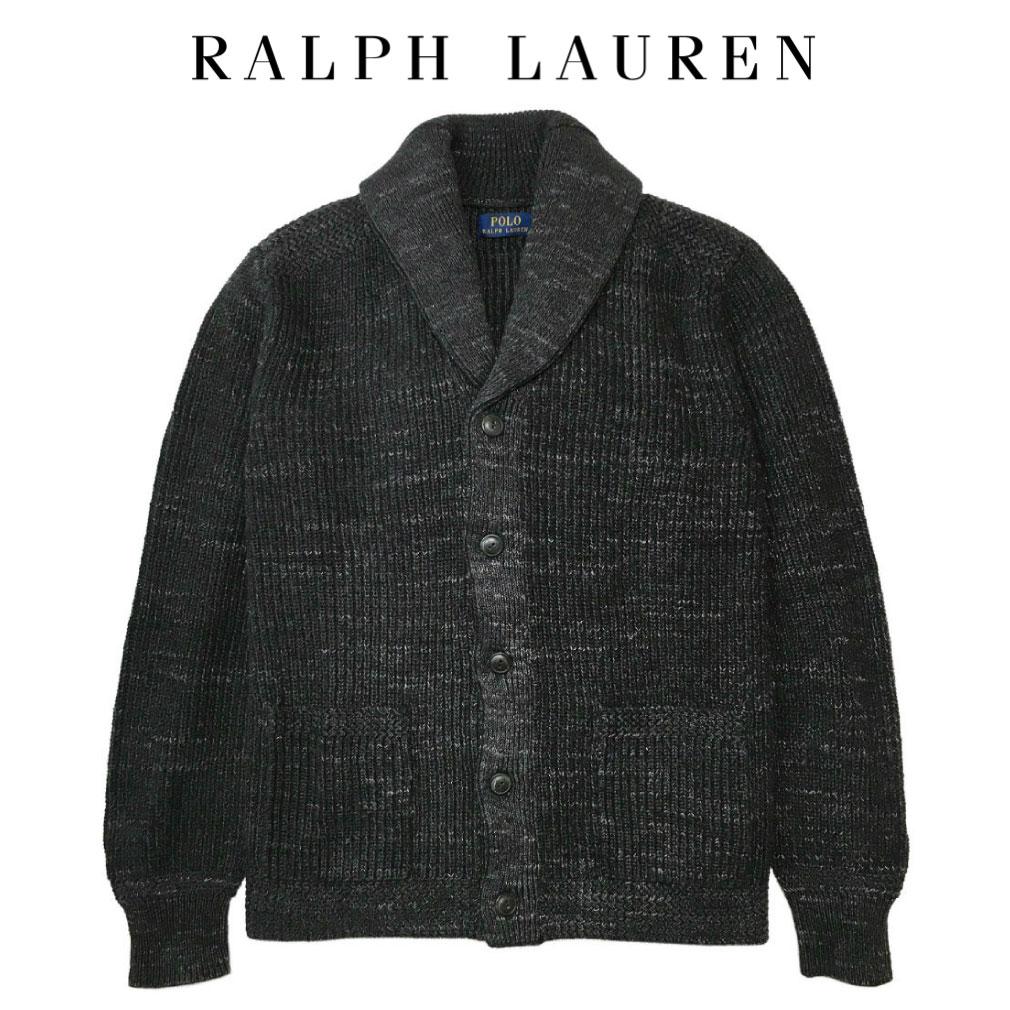 ポロ ラルフローレン ニット セーター カーディガン Polo Ralph Lauren メンズ MENS ダークグレー A470916T86 YA