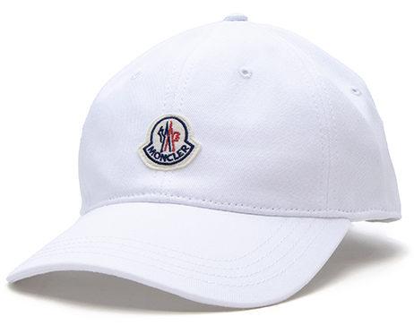 モンクレール MONCLER ベースボールキャップ ホワイト 3B706 00 V0090 001