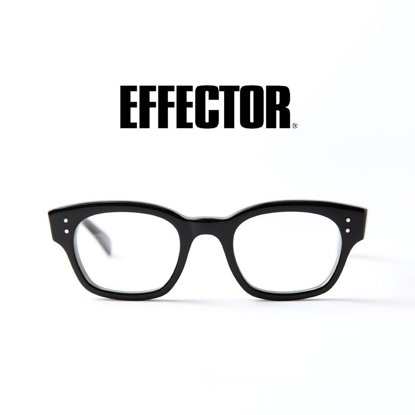 EFFECTOR エフェクター Chorus コーラス ウェリントン メガネ