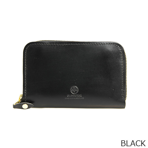 GLENROYAL 財布 カードケース/コインケース ZIP AROUND CASE 03-5997