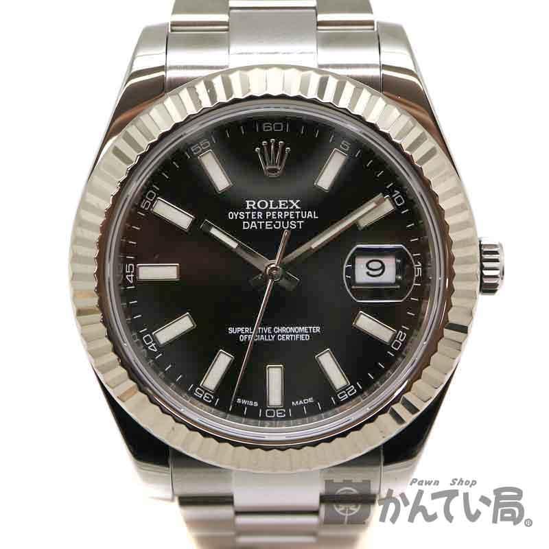 ROLEX【ロレックス】 116334G デイトジャスト2 ステンレススチール