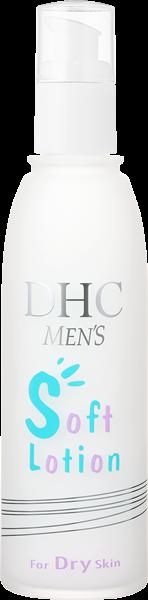 部分的にテカリやカサつきが気になる肌に DHC薬用メンズソフトローション(普通肌用)
