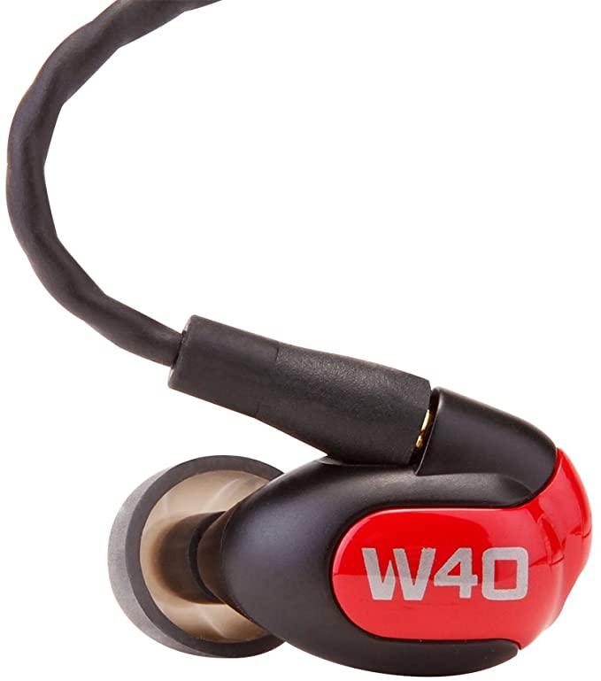 Westone ウェストン W40 ユニバーサルイヤホン 4バランスドアーマチュアドライバ IEM WST-W40
