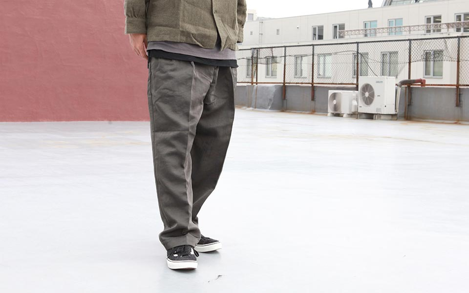 ネイタルデザイン NATAL DESIGN SLACKER PANTS NYLON