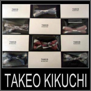 TAKEO KIKUCHI(タケオキクチ)マルチドット蝶ネクタイ