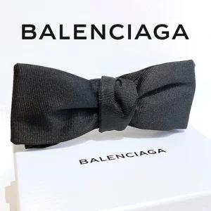 BALENCIAGA バレンシアガ メンズ 蝶ネクタイ ブラック