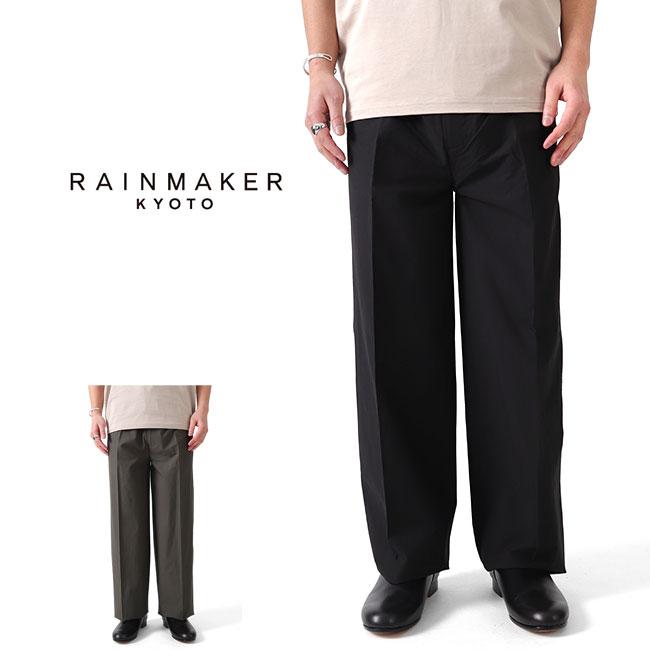RAINMAKER レインメーカー タイプライター ドウギパンツ RM201-037 ワイドパンツ イージーパンツ (メンズ)