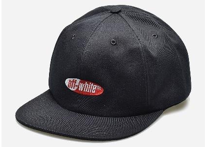 OFFWHITE オフホワイト 帽子 スプリット ロゴ