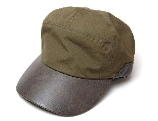 """帽子 """"COUNTRY(カントリー)"""" 革つばコットンキャップ メンズ"""