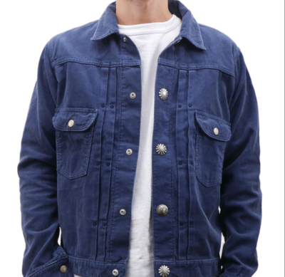 ロンハーマン Ron Herman x Wrangler ラングラー Corduroy Concho Denim Jacket