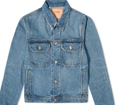 エドウィン Edwin メンズ ジャケット Gジャン アウター【Made In Japan Denim Jacket】Heavy Worn