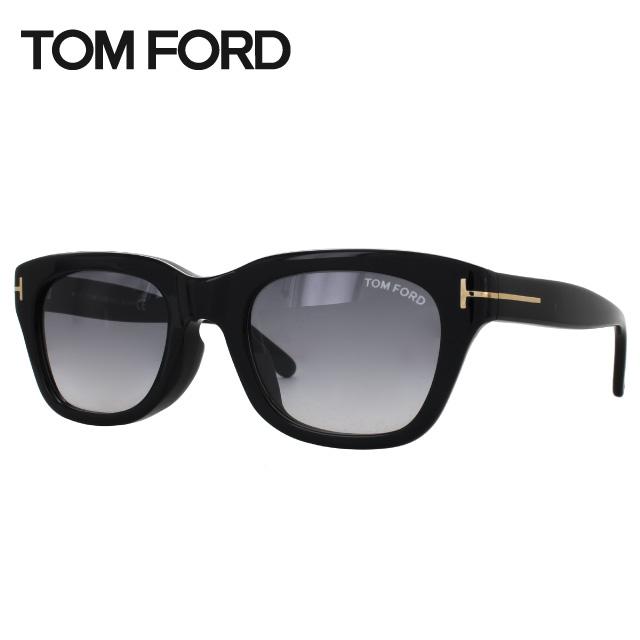 トムフォード サングラス スノードン アジアンフィット TF0237F(FT0237F) 01B 51サイズ