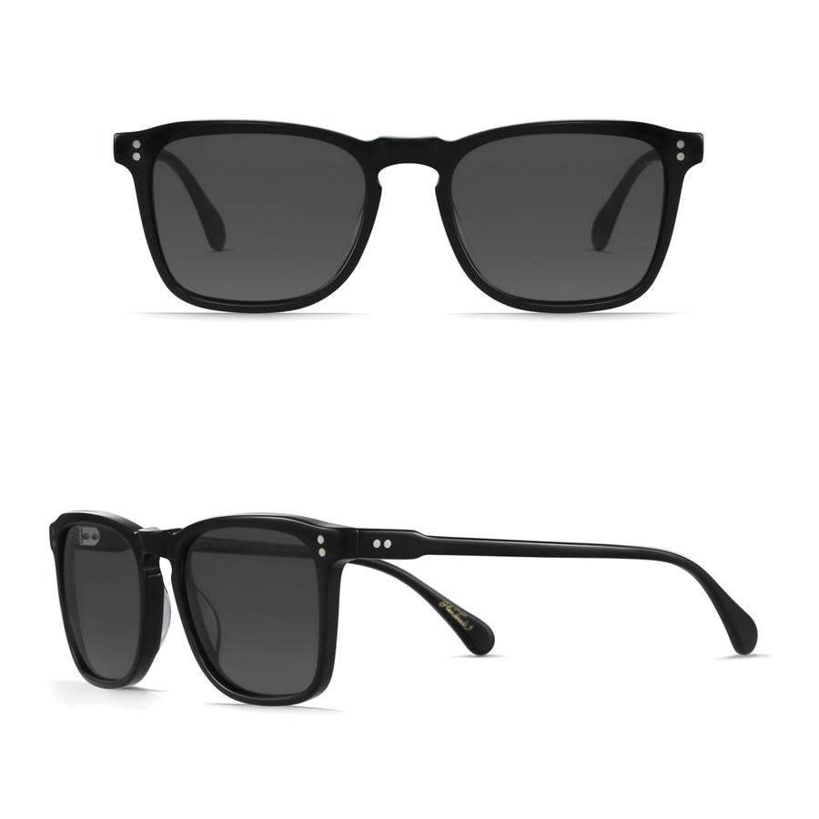 レーン レイン サングラス / WILEY - BLACK x SMOKE  100M161WLY