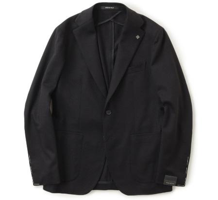 タリアトーレ 2B シングル ジャケット カシミヤ 1SMC22K N3379/ブラック