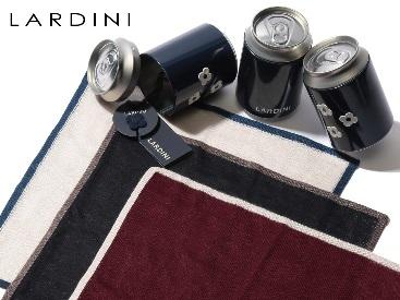 ラルディーニ LARDINI チーフ カシミヤ シルク混 ポケットチーフ ブランド メンズ