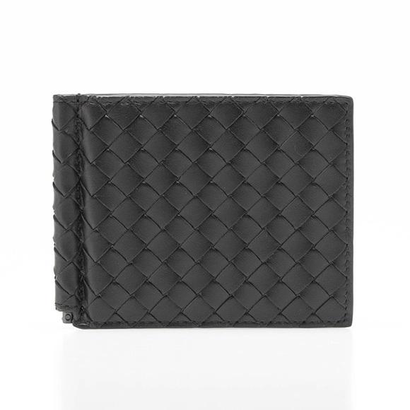 ボッテガヴェネタ 二つ折り財布 ブラック 123180 V4651 1000 NERO/NERO