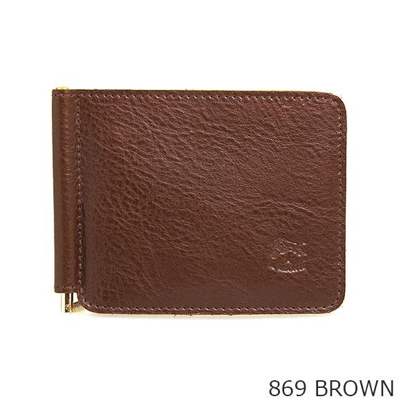 イルビゾンテ 二つ折り財布(マネークリップ付) C0963 P [全4色]
