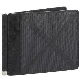 Burberry 二つ折り財布 Check Money Clip Wallet msbu6025934001