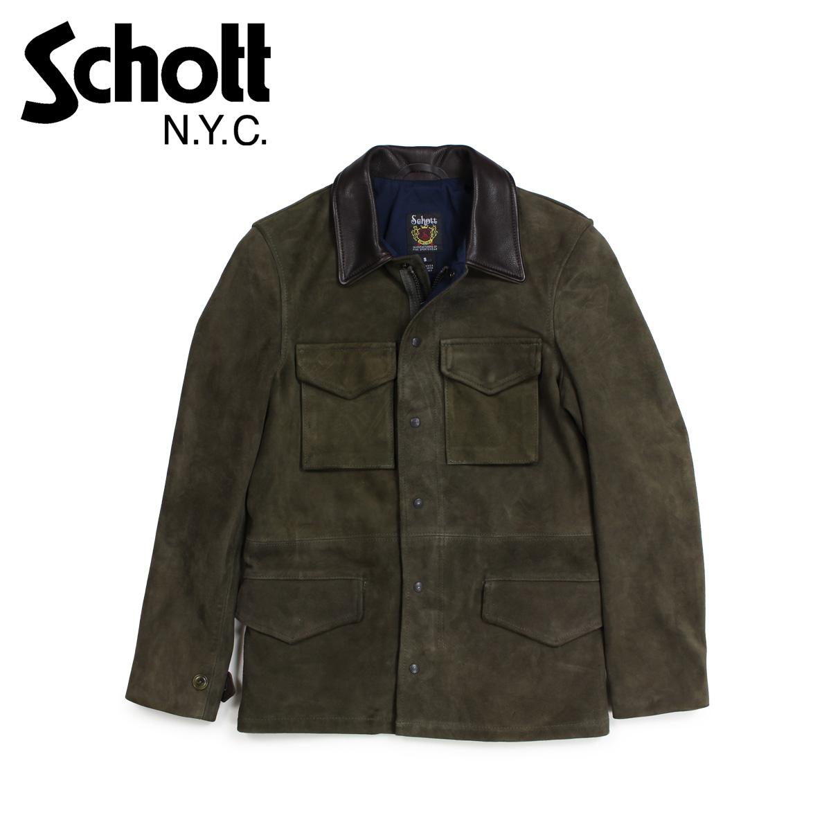 Schott ショット M51 ミリタリージャケット  オリーブ 258